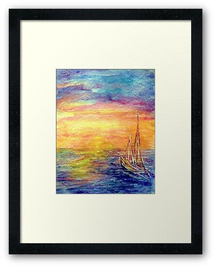 Sail Away..... by Robin Monroe