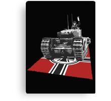 Chuchill tank Winston Churchill Canvas Print