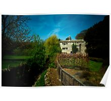 Cottage At Downham Poster