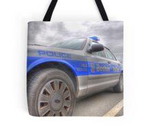 Boston Police Cruiser Tote Bag