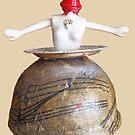 saltpot Barbie, 2010 by Thelma Van Rensburg