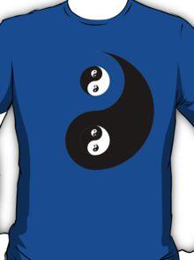 Ying Yang Sticker T-Shirt