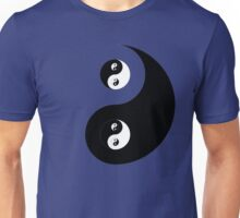Ying Yang Sticker Unisex T-Shirt