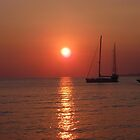 sunset at Myconos summer 2010 by Marlen