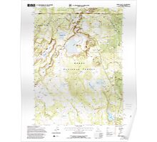 USGS Topo Map California Weed Valley 295688 1993 24000 Poster