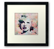 Vintage Marilyn Framed Print