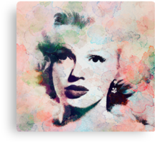 Vintage Marilyn Canvas Print