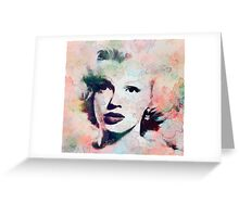 Vintage Marilyn Greeting Card