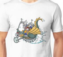 Jettin Jaguar and his Way Gone Gigancycle Unisex T-Shirt