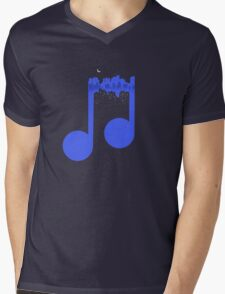 Night music Mens V-Neck T-Shirt