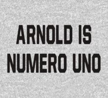 Arnold Is Numero Uno Kids Clothes