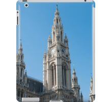 Vienna Austria The Neo Gothic Rathaus (Town Hall) iPad Case/Skin