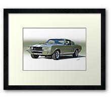 1967 Mustang 'Shelby GT 500' Framed Print