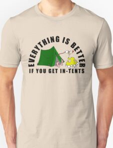 Get In-Tents. T-Shirt