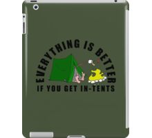 Get In-Tents. iPad Case/Skin