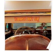 Terrorists Don't Surf Poster