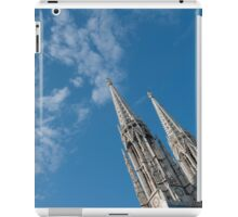 Vienna Austria Spires of the neo-Gothic Votivkirche (Votive Church) iPad Case/Skin