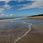 Looking Along Bribie Island by Stephen Quennell