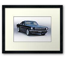 1966 Ford Mustang Fastback Framed Print