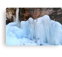 Icy sculptures Metal Print