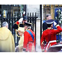 THE QUEEN AND PRINE PHILIP  Photographic Print