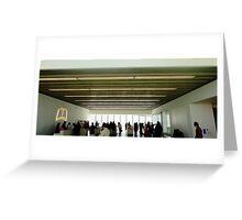 Gallery Foyer Greeting Card