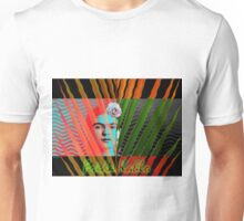 At the Beach with Frida Kahlo (Ver 3) Unisex T-Shirt