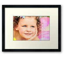 tutu love Framed Print