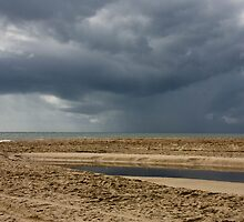 Storm Over Bribie Island by Stephen Quennell