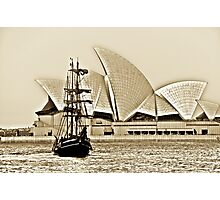 Sailing on the smooth as silk waves~~~ Photographic Print
