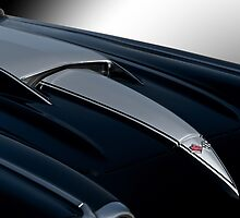 1958 Corvette 'Big Block' Hood Detail by DaveKoontz