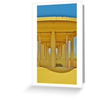 Clifftop Shelter Greeting Card