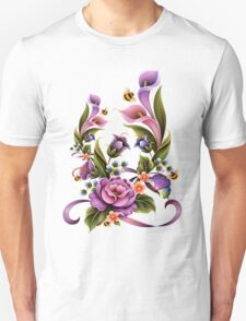 Enchanted Flowers  Unisex T-Shirt