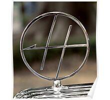 '34 Hupmobile Mascot Poster