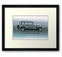 1930 Chevrolet Touring Sedan Framed Print