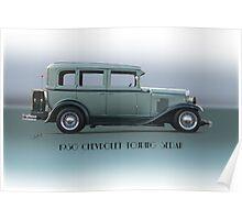 1930 Chevrolet Touring Sedan Poster