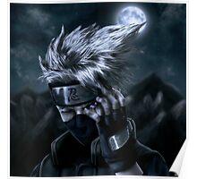 Kakashi Rinnegan Eye Poster