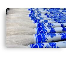 Porcelain Brushes of China Canvas Print