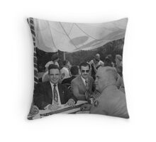 Frank Clement at York Day Throw Pillow
