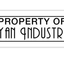 Property of Ryan Industries Sticker
