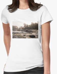 Whiskey River  Womens Fitted T-Shirt