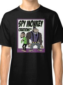 Spy Monkey Creations Inc Logo! Classic T-Shirt