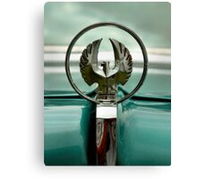 1963 Chrysler Imperial Mascot Canvas Print