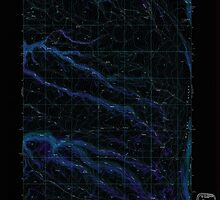 USGS Topo Map Oregon Mc Coy Ridge 280679 1968 24000 Inverted by wetdryvac