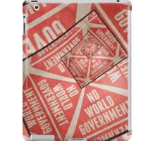 No World Government iPad Case/Skin
