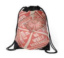 No World Government Drawstring Bag