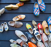 Wooden Shoes by Maria Heyens
