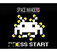 Space Invaded Photographic Print