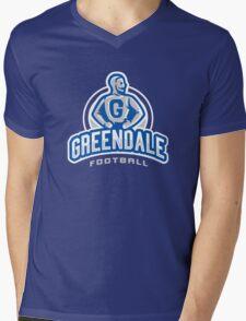 GreenDale Football Mens V-Neck T-Shirt