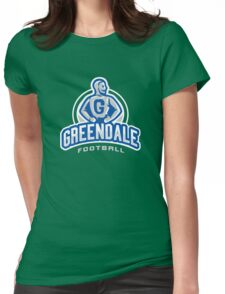 GreenDale Football Womens Fitted T-Shirt